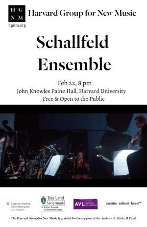 Schallfeld Ensemble Poster